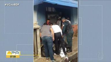 Polícia apreende material ilegal de campanha eleitoral em Juruti - Polícia apreende material ilegal de campanha eleitoral em Juruti.