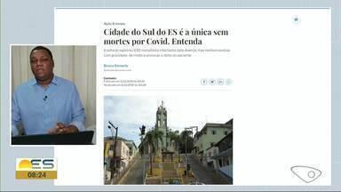 Iconha é única cidade do ES que não registrou mortes por Covid-19 - Veja a seguir.
