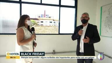 Black friday: Cuidados são importantes para evitar cair em golpes - No Brasil, muitas empresas já começaram a temporada de promoções.