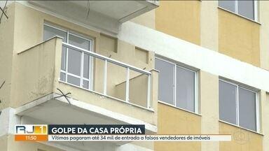 Golpe da casa própria - Famílias pagam até 34 mil reais a falsos vendedores de imóveis