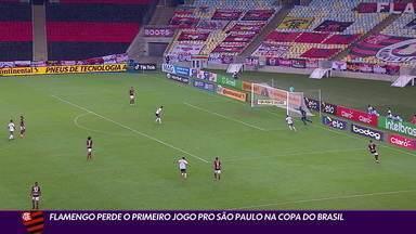Com falha de Hugo, Flamengo perde o primeiro jogo para o São Paulo na Copa do Brasil - Com falha de Hugo, Flamengo perde o primeiro jogo para o São Paulo na Copa do Brasil