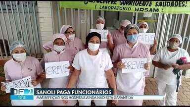 DF2 | Cinco hospitais públicos estão sem refeições há dois dias Assista  online | Globoplay
