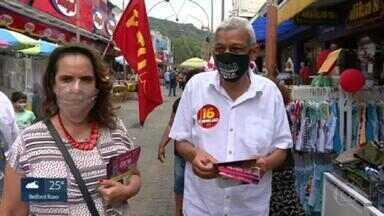 Cyro Garcia (PSTU) faz campanha na Penha na véspera das eleições - Cyro Garcia (PSTU) faz campanha na Penha na véspera das eleições.