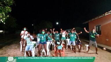 Amor pelo Palmeiras atravessa gerações em comunidade quilombola no Maranhão - Amor pelo Palmeiras atravessa gerações em comunidade quilombola no Maranhão