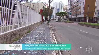 Confira o resultado das eleições em cidades da Zona da Mata e Campo das Vertentes - Em Juiz de Fora haverá segundo turno. Em Barbacena, Carlos Augusto Soares, do MDB, foi eleito com 19% dos votos.