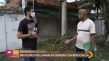 Problemas no INSS: brasileiros reclamam da demora e da burocracia - Mais de um milhão de pessoas aguardam respostas