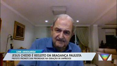 Jesus Chedid é reeleito em Bragança Paulista - Prefeito promete dar prioridade na geração de empregos.