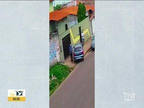 Polícia apura caso de carro deixado em frente à casa de candidato em Santa Inês - Polícia Civil apurou e já descobriu que o carro é registrado em nome de uma locadora de veículos, mas que já havia sido vendido.