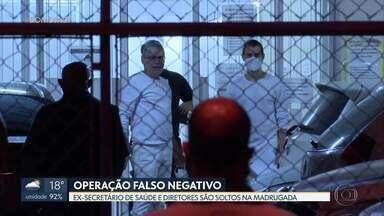 Justiça manda soltar seis presos da cúpula da Secretaria de Saúde - Entre os acusados soltos está o ex-secretário de Saúde do DF, Francisco Araújo. A juíza determinou que todos usem tornozeleira eletrônica por seis meses.