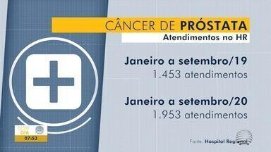 Aumenta números de atendimentos relacionados ao câncer de próstata - Dia mundial do combate à doença é nesta terça-feira (17).