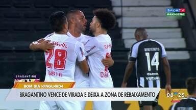 Bragantino vence Botafogo de virada e deixa zona de rebaixamento - Confira os lances.