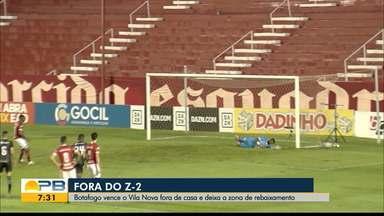 Vila Nova 0 x 1 Botafogo-PB, pela rodada #15 da Série C - Jogando fora de casa, time paraibano vence a equipe goiana e sai da zona de rebaixamento do Grupo A da Série C
