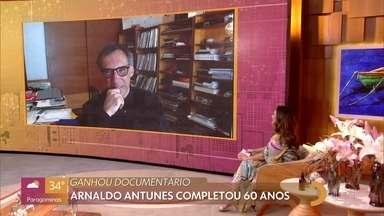 Arnaldo Antunes completou 60 anos - O cantor lançou álbum no início do ano