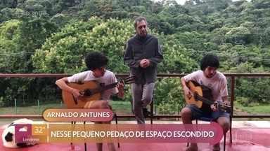 Arnaldo Antunes prepara surpresa para o Encontro - Confira!