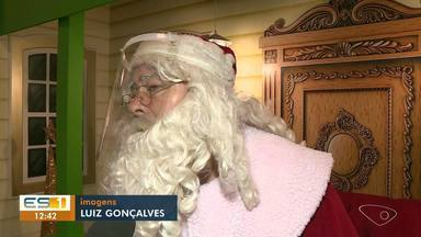 Conheça a rotina de um Papai Noel, no Sul do ES - Assista.