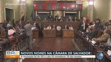 Câmara de Salvador vai ter renovação de quase 40% e mulheres conquistam mais vagas - Veja mais detalhes sobre a composição de vereadores para o próximo mandato, na capital baiana.
