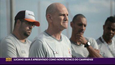 Luciano Silva é apresentado como novo técnico do Campinense - Treinador estava integrando a comissão técnica do Remo