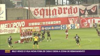 Botafogo-PB vence o Vila Nova e deixa a zona de rebaixamento - Gol do Belo, na vitória por 1 a 0, foi marcado por Everton Heleno