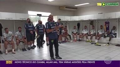 De técnico novo, Cuiabá se prepara para enfrentar o Grêmio - De técnico novo, Cuiabá se prepara para enfrentar o Grêmio.