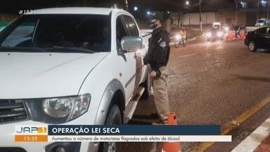Operação Lei Seca registra 3º mês de aumento de motoristas flagrados alcoolizados no Amapá - Dados são referentes entre agosto e outubro, que representou um número quase 3 vezes maior de ocorrências.