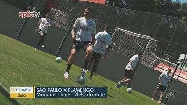 Confira as atualizações do Palmeiras e do São Paulo para seus jogos desta quarta-feira - Palmeiras tem problemas no elenco, com jogadores infectados pela Covid-19. São Paulo joga contra o Flamengo sem nenhum desfalque.