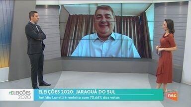 Prefeito de Jaraguá do Sul reeleito fala sobre prioridades para cidade - Prefeito de Jaraguá do Sul reeleito fala sobre prioridades para cidade