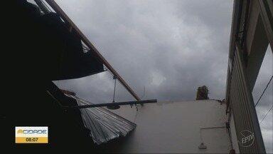 Chuva causa estragos em cidades do Sul de Minas - Chuva causa estragos em cidades do Sul de Minas