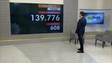 Paraíba tem 139.776 casos confirmados por coronavírus - Dados são das últimas 24h