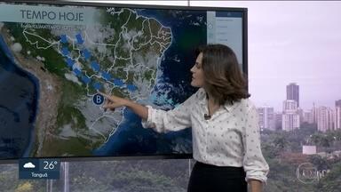 Rio tem previsão de chuva forte nos próximos dias - Cidade do Rio está em estágio de mobilização.
