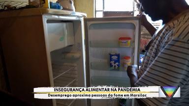 Insegurança alimentar na pandemia - Desemprego aproxima pessoas da fome em Marsilac.