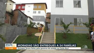 Governo do Estado entrega novas moradias para 54 famílias de baixa renda em Salvador - Imóveis foram entregues na manhã desta quarta-feira, no bairro do Costa Azul.