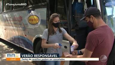 Festas de réveillon que estão sendo vendidas, podem ser canceladas por causa da pandemia - Secretário de Saúde alerta população para não realizar compra de ingressos.