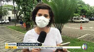 Covid-19 faz novas vítimas em cidades da região - veja a situação da doença.