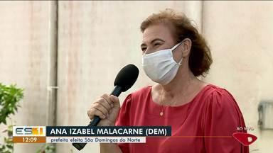 Entrevista exclusiva com Ana Izabel Malacarne, prefeita eleita em São Domingos do Norte - Assista.