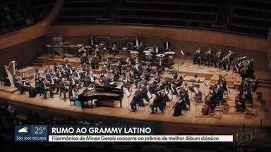 Filarmônica de Minas Gerais concorre ao Grammy Latino - Orquestra é a única brasileira com trabalho indicado.