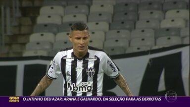 O jatinho deu azar: Arana e Galhardo voltaram da Seleção, mas saíram derrotados - O jatinho deu azar: Arana e Galhardo voltaram da Seleção, mas saíram derrotados