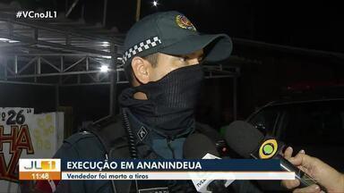 Câmeras podem ajudar a identificar responsáveis pelo assassinato de homem na Guanabara - Tiago dos Santos foi executado a tiros enquanto trabalhava vendendo lanches.