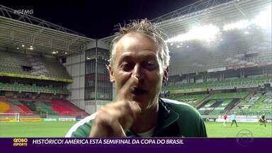 Histórico: América elimina o Internacional e está na semifinal da Copa do Brasil - Histórico: América elimina o Internacional e está na semifinal da Copa do Brasil