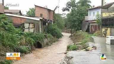 Chuva forte causa estragos em Marabá, sudeste do Pará - Chuva começou na madrugada desta quinta.