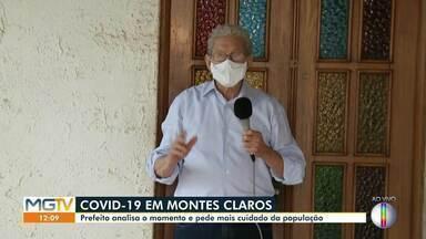 Covid-19 em Montes Claros: Prefeito analisa momento e pede cuidado para a população - Evitar aglomeração e intensificar uso de máscara são atitudes essenciais para se proteger do coronavírus.