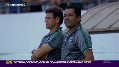 Com novidades, Atlético-GO e Goiás tentam voltar a vencer no Brasileirão - Dragão tem reforços no meio-campo; Verdão tem nova comissão técnica