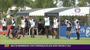 Botafogo-PB retomar trabalho com a confiança em alta após vitória sobre o Vila Nova - Belo vem de duas vitórias seguidas na Série C e saiu do Z-2 do Grupo A