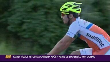 Ciclista paraibano retoma a carreira após quatro anos de suspensão por doping - Kléber Ramos está de volta à ativa nos pedais
