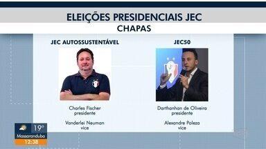Reta final das eleições presidenciais no JEC - Reta final das eleições presidenciais no JEC