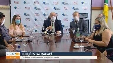 TRE define novas datas para Eleições em Macapá - TRE define novas datas para Eleições em Macapá