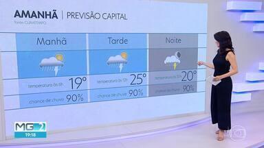Previsão de chuva forte reforça alerta da Defesa Civil para evitar áreas de alagamentos - Veja na previsão do tempo para BH e o estado.
