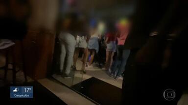 Festas clandestinas em São Paulo são um risco para a disseminação do coronavírus - No final de semana, houve o flagrante de, pelo menos, três festas clandestinas pela capital paulista. Esses eventos podem ter contribuído para o aumento do número de casos de pacientes com Covid-19.