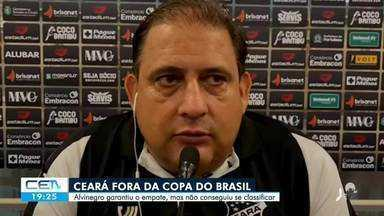 Ceará fora da Copa do Brasil - Saiba mais em g1.com.br/ce