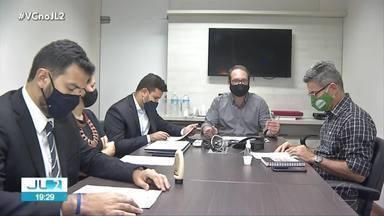 Reunião define regras do debate com candidatos à prefeitura de Belém na TV Liberal - Reunião define regras do debate com candidatos à prefeitura de Belém na TV Liberal
