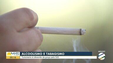 Prefeitura de Campo Grande tem projeto contra alcoolismo e tabagismo - Capital está entre as cidades com mais pessoas que consomem estas duas drogas.